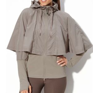 Zella Righteous Rain poncho jacket xs/s